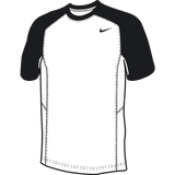 Nike Elite Short Sleeve Shooter - White / Black