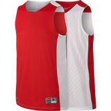 Nike Youth Reversible Tank - Scarlet / White