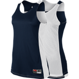 Nike Womens League Reversible Tank - Navy / White
