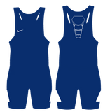 Nike Grappler Elite Wrestling Singlet - Royal / White