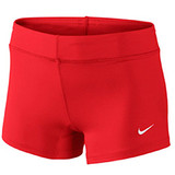 Nike Women's Volleyball Performance Game Short - Scarlet/White