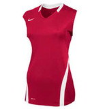 Nike Women's Volleyball Ace Tank - Scarlet/White