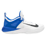 Nike Women's Air Zoom Hyperace Volleyball Shoe - White/Black/Game Royal