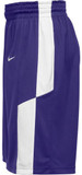 Nike Men's Elite Franchise Short - Purple/White