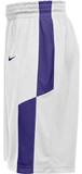 Nike Men's Elite Franchise Short - White/Purple