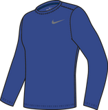 Nike Youth Legend Long Sleeve Top - Royal/White