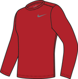 Nike Youth Legend Long Sleeve Top - Scarlet/White