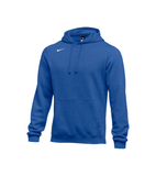Nike Men's Club Fleece Pullover Hoody - Royal/White