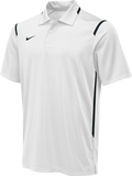Nike Men's Team Game Day Polo - White/Black