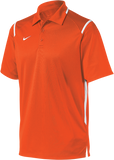 Nike Men's Team Game Day Polo - Orange/White