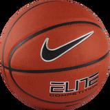 Nike Elite Competition 8-Panel (Size 6) Basketball - Amber/Black/Platinum