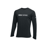 Nike Men's UWW Hyperelite Long Sleeve Tee - Black/White