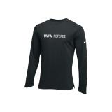 Nike Men's UWW Hyperelite Long Sleeve Tee - Black/White