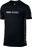 Nike Men's UWW Dry Elite T-Shirt - Black / Black / White