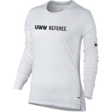 Nike Women's UWW Dry Elite Top - White/Black