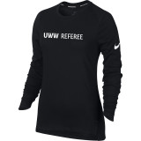 Nike Women's UWW Dry Elite Top - Black/White
