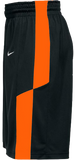 Nike Men's Elite Franchise Short  - Black/Orange