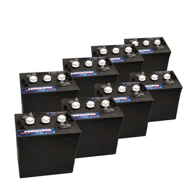6 Volt Golf Cart Batteries Powertron P2000 6v 210ah 8