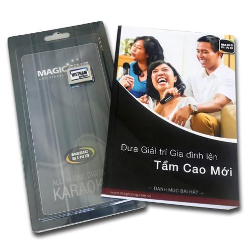 Magic Sing Vietnamese 2 Song Chip