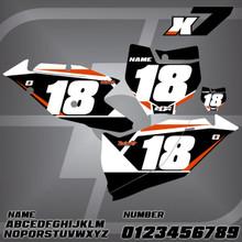 KTM X7 Number Plates