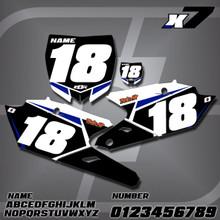 Yamaha X7 Number Plates