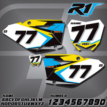 Suzuki R1 Number Plates