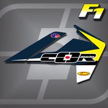 Husqvarna F1 Shrouds