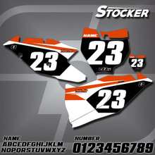 KTM Stocker Number Plates