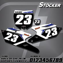 Yamaha Stocker Number Plates