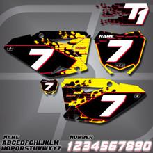 Suzuki T1 Number Plates