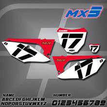 Honda MX3 Number Plates