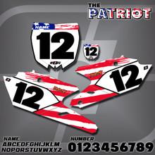 Yamaha Patriot Number Plates