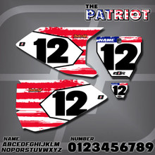 Husqvarna Patriot Number Plates