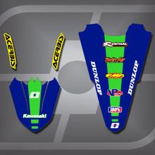Kawasaki MX3 Fender Set