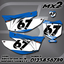 TM MX2 Number Plates