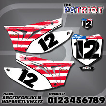 TM Patriot Number Plates
