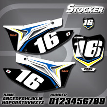 TM Stocker Number Plates