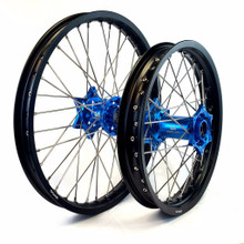 KTM Anodized Hub Wheel Set Blue