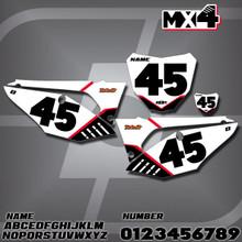 Honda MX4 Number Plates
