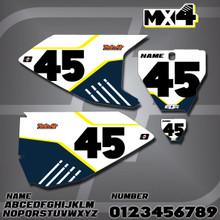 Husqvarna MX4 Number Plates