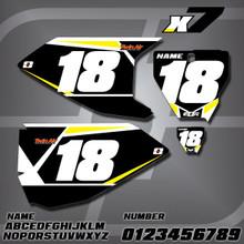Husqvarna X7 Number Plates