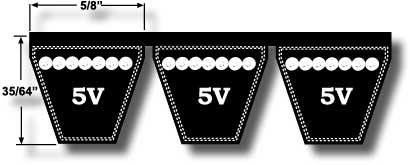 5V V-Belt