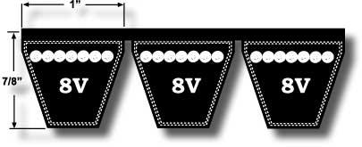 8V V-Belt