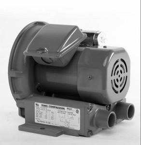 VFC080P-5T Fuji Regenerative Blower .11 hp, 1.2/.06 amps,115/230 Volts
