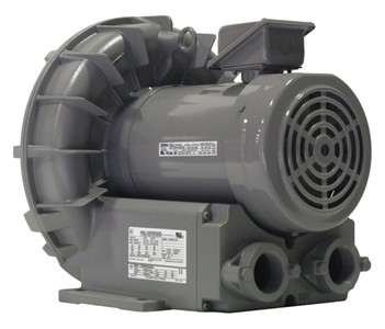 VFZ501A-7W Fuji Regenerative Blower 2.7 hp, 208-230/460 Volts