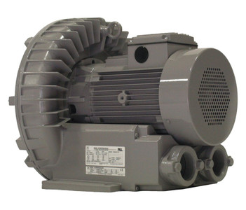 VFZ601A-7W Fuji Regenerative Blower 5 hp, 208-230/460 Volts