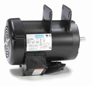 2 hp 3450 RPM Delta Unisaw Electric Motor 115/230 Volts Leeson Electric Motor # 120997