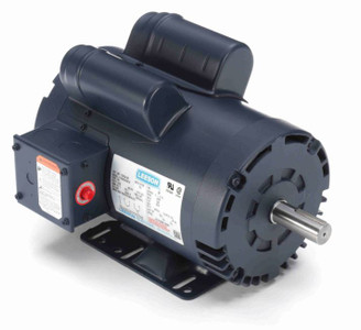 5 hp 3450 RPM 145T 230V Air Compressor Motor Leeson # 120554