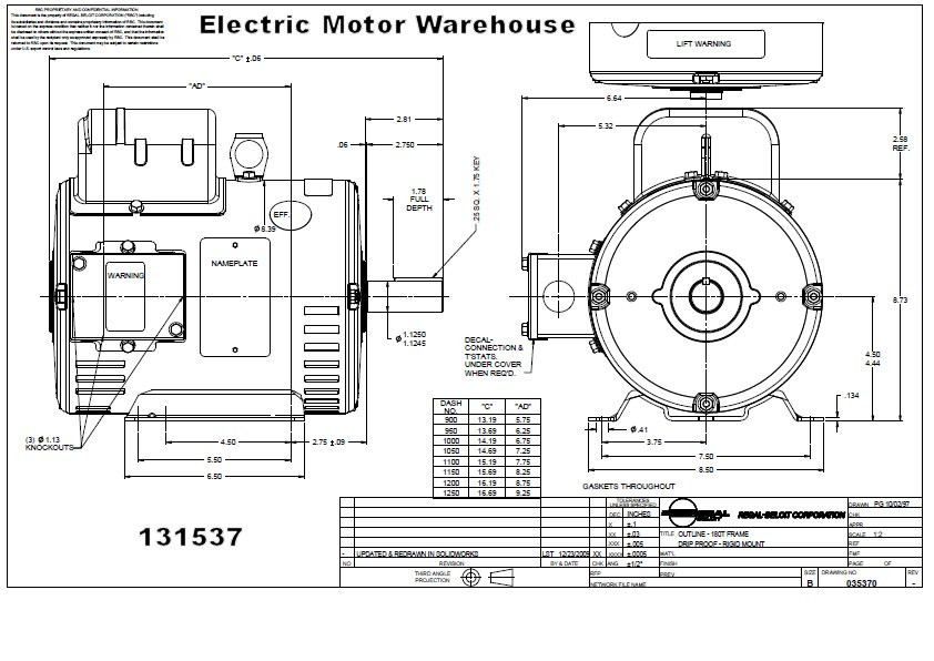 5 Hp 1725 Rpm 184t Frame Odp 230v Leeson Motor 131537rhelectricmotorwarehouse: 1 5 Hp Electric Motor Wiring Diagrams At Oscargp.net