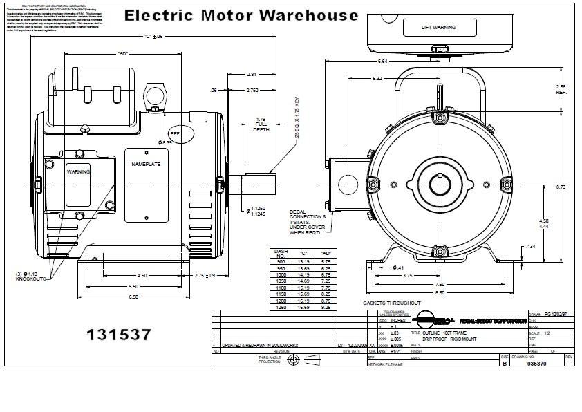 5 hp 1725 rpm 184t frame odp 230v leeson motor 131537 rh electricmotorwarehouse com